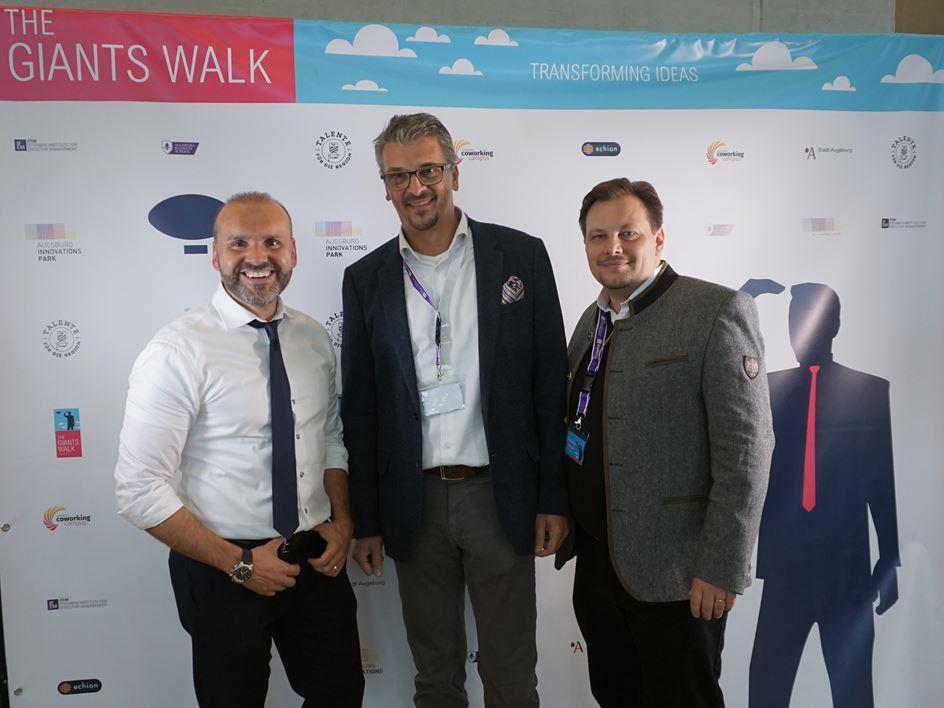 Die Gründer von The Giants Walk