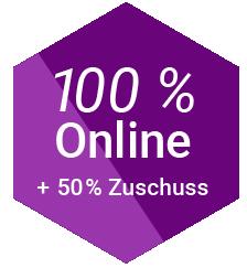 100% Online Kurse mit Zertifikat