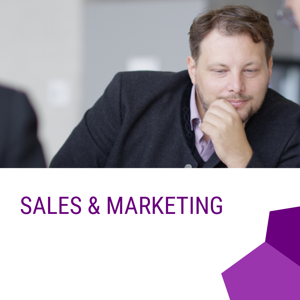 Sales Vertrieb Marketing