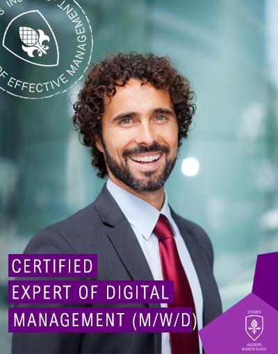 Certified Expert of Digital Management