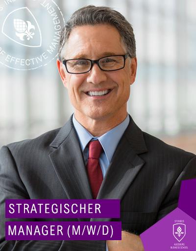 Strategischer Manager